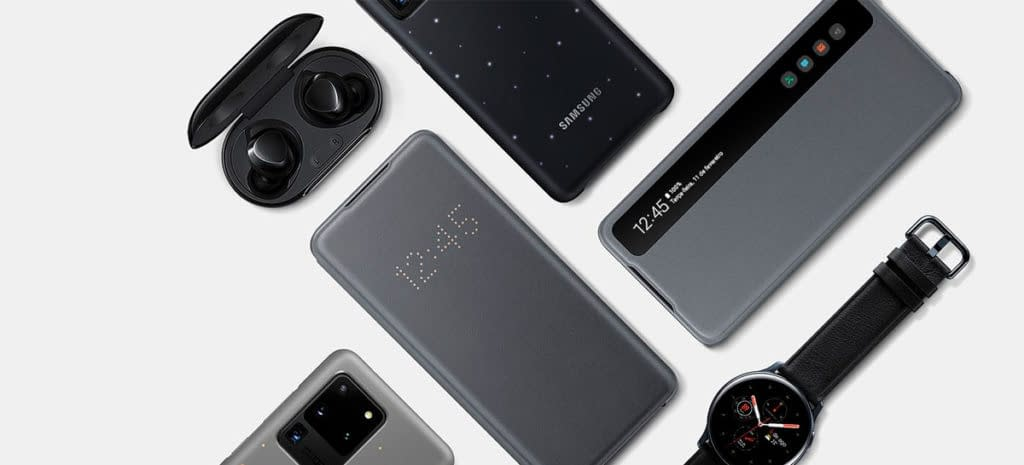 Veja o preço dos acessórios da linha de produtos 2020 da Samsung