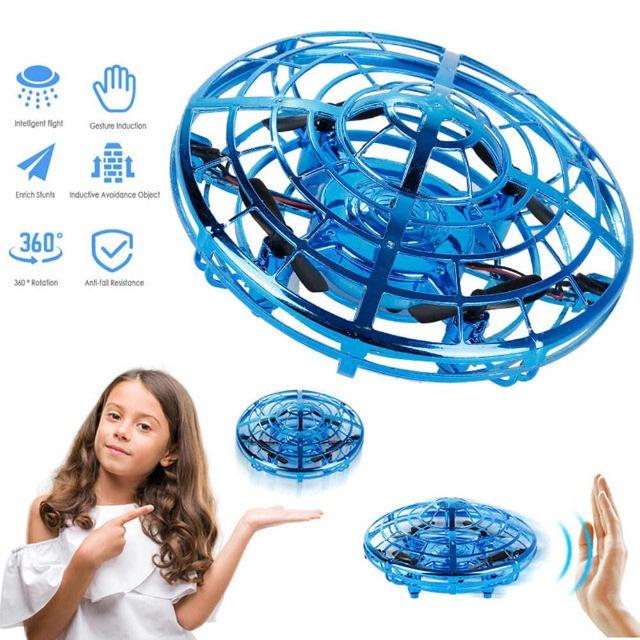 Drone UFO – Sem Controle – Brinquedo – Sensor por Indução e Gestos – Mantem Altitude