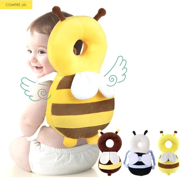 Almofada Protetora Cabeça Crianças Proteção Bebê