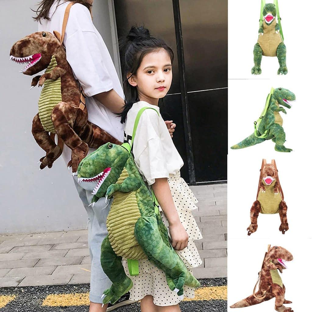 Escola muito mais divertida –  Mochila de dinossauro 3D