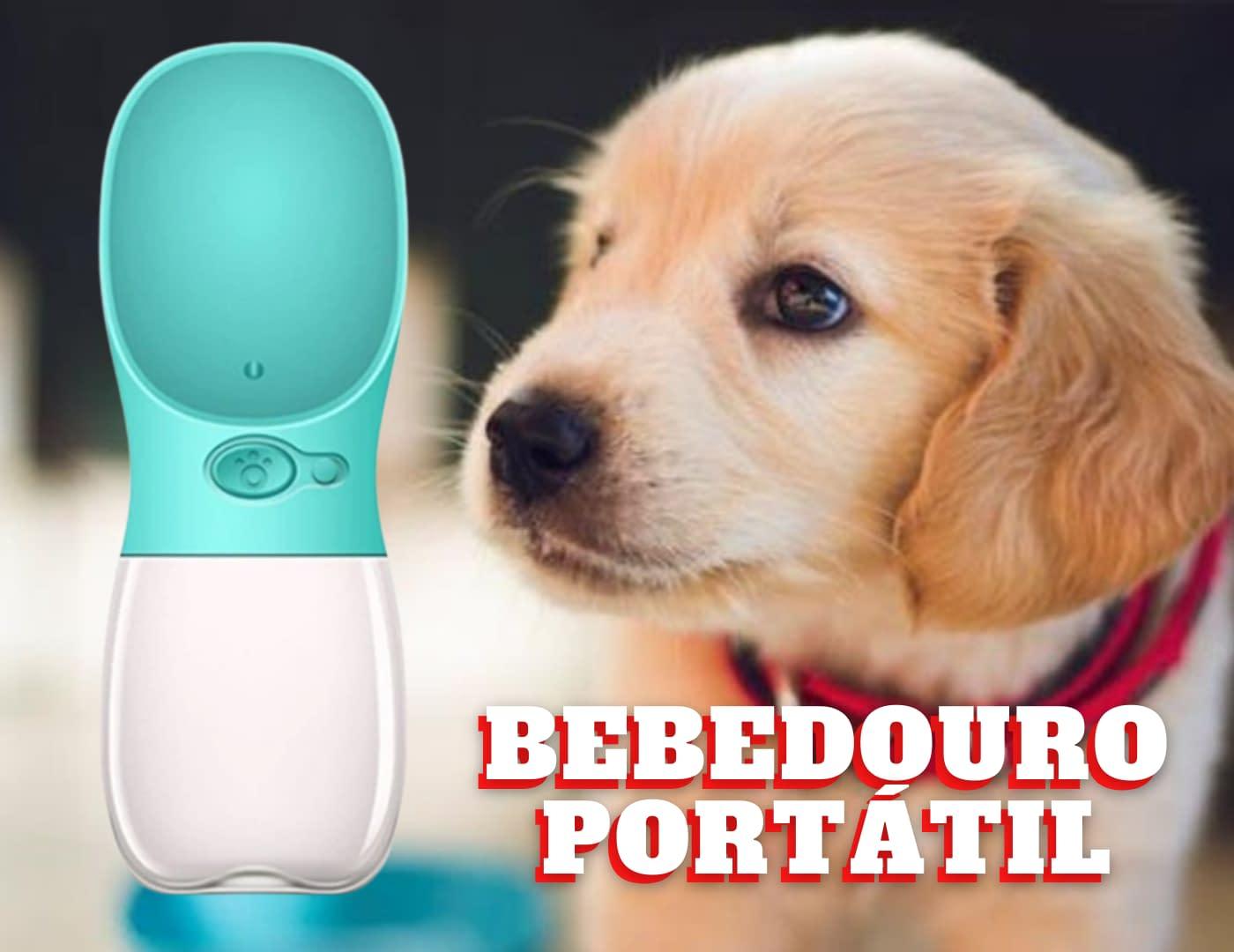 Bebedouro Pet Portátil Automático para Seu Pet – Água Reservatório Cachorro Gato Passeio