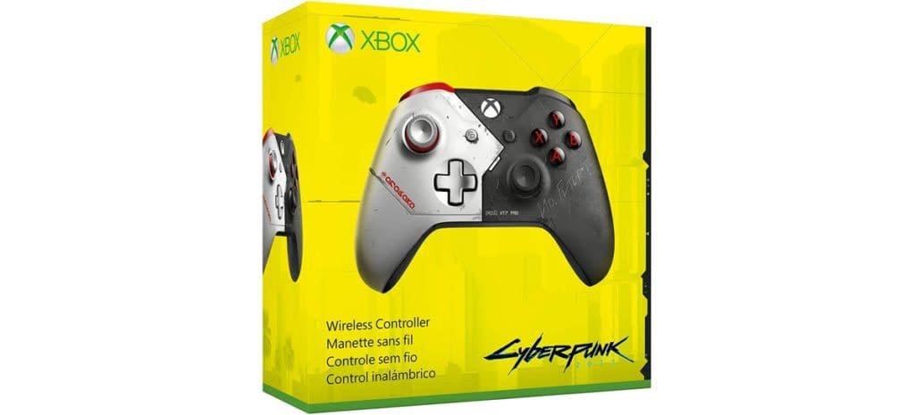 Xbox One terá controle sem fio com temática de Cyberpunk 2077