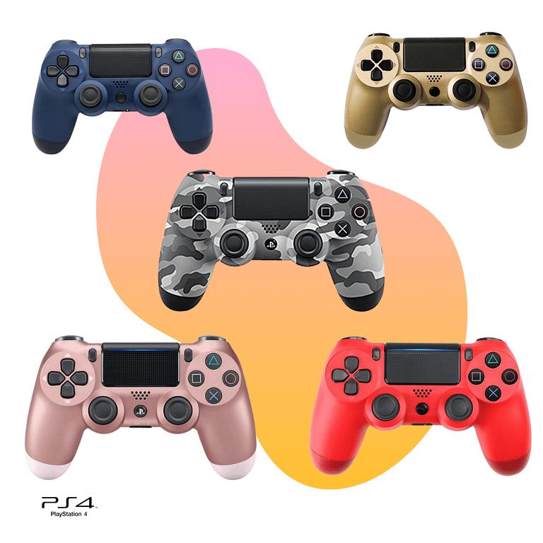 Controle PS4 Wireless Bluetooth – Controller Playstation 4 – Cores Variadas – Seu Game, Seu Estilo