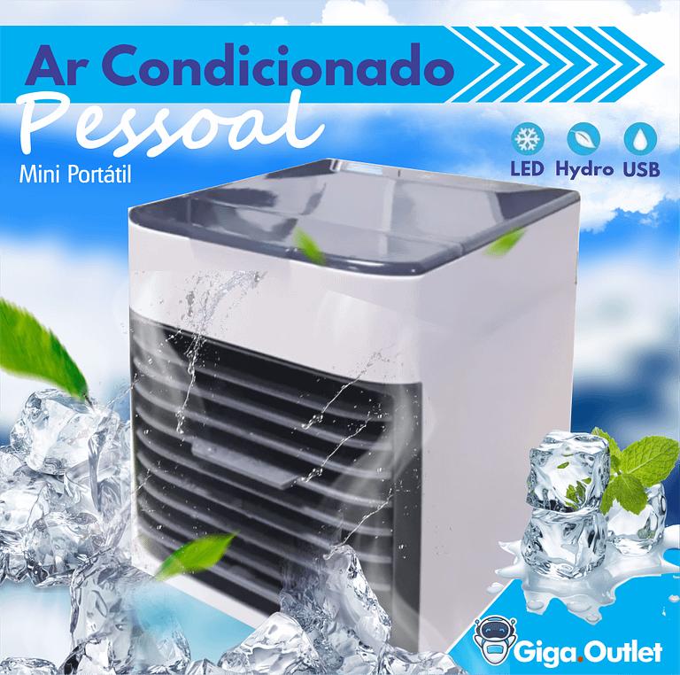 Ar Condicionado Portátil de Mesa – Evaporativo – Até 5 graus a menos