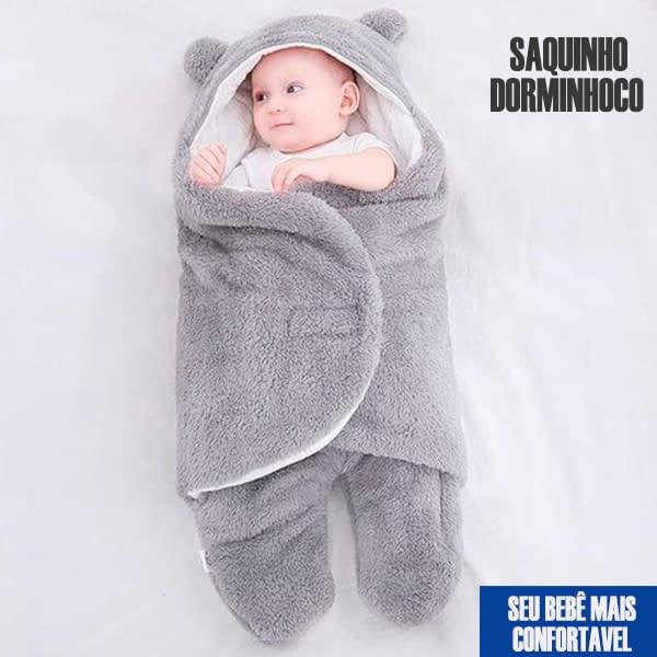 Saquinho Dorminhoco – Para bebês se sentirem mais protegidos e ajudar a dormir, sem sustos (evitar reflexo de moro, técnica do ninho)
