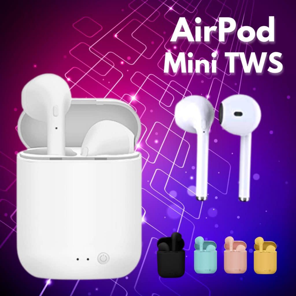 airPods TWS Fones de Ouvido Sem Fio mini – Diversas Cores